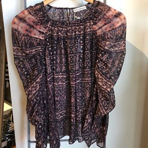 Ulla Johnson pia blouse in earth